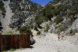 San_Antonio_Falls_070_05082020 - Julie and Tahia headed towards the base of San Antonio Falls during our May 2020 visit