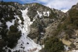 San_Antonio_Falls_16_079_01162016 - The context of San Antonio Falls with the snow covered mountains to its left and the mostly bare area to its right
