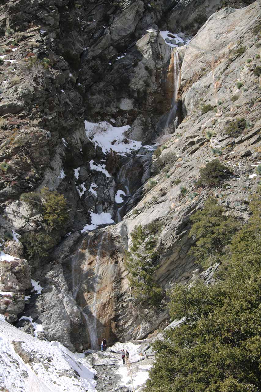 A snow-filled adventure to San Antonio Falls
