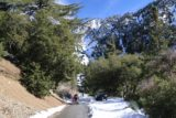 San_Antonio_Falls_16_130_01162016 - Approaching the trailhead after the Falls Road made its turn back towards the snow-covered mountains before us