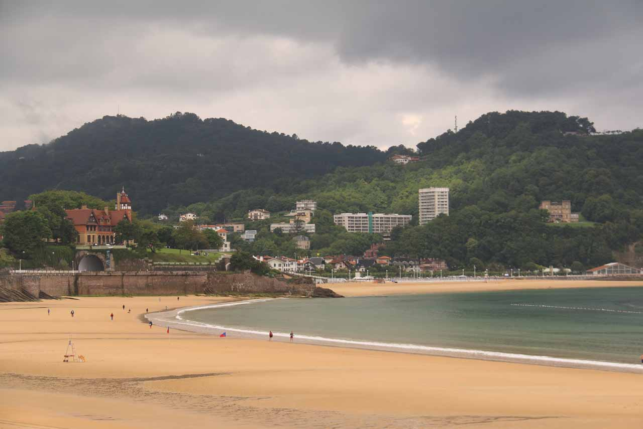 Before making the long drive to Torla and the Ordesa Valley, we had stayed in the beautiful beach town of San Sebastián or Donostia. Our weather there was bad, but it cleared in time for the long hike