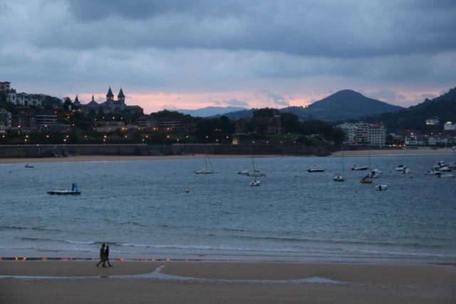 San_Sebastian_463_06152015 - Before making the long drive to Torla and the Ordesa Valley, we had stayed in the beautiful beach town of San Sebastián or Donostia. Unfortunately, the weather there was bad, but it did start to improve when we got into the Pyrenees