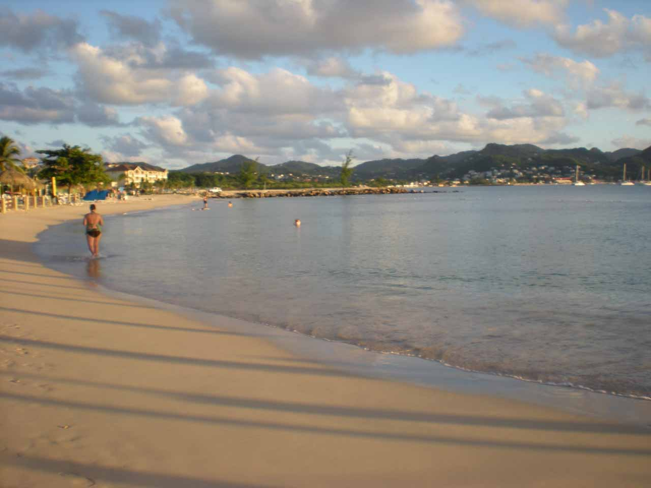 Beach at the Sandals Grande Resort