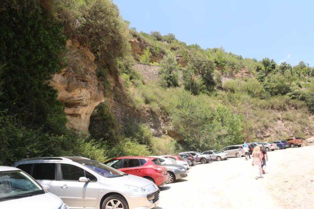 Sant_Miquel_de_Fai_001_06202015 - The large spillover car park for the Monestir de Sant Miquel del Fai complex
