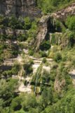 Sant_Miquel_de_Fai_023_06202015 - Here's a zoomed in look at the entirety of the Salt de Tenes so you can see that there really is still water in this waterfall