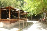 Sant_Miquel_de_Fai_246_06202015 - While the kids were playing below, this was the cantina and picnic area to sit, relax, and watch them from above