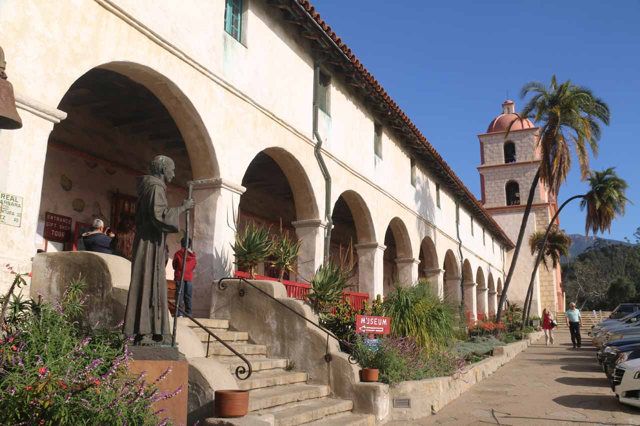 The front of the Old Mission