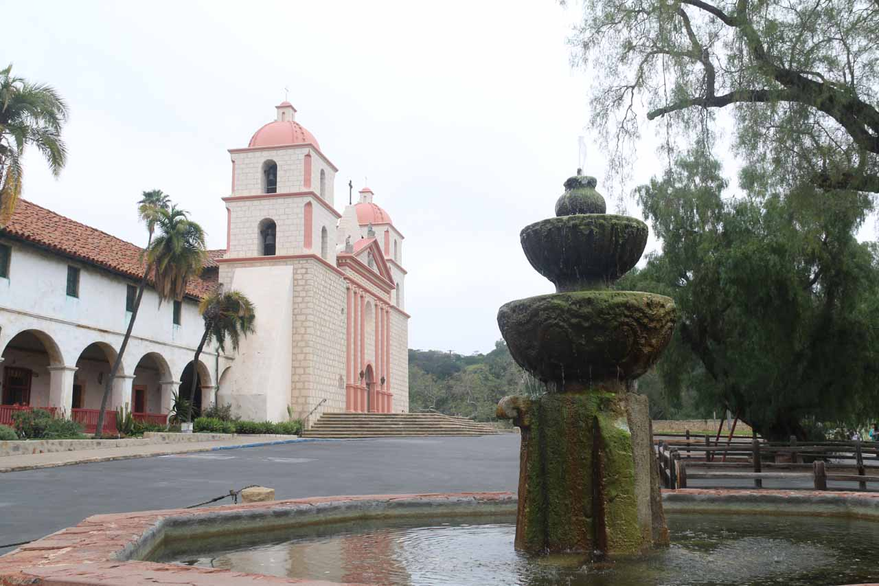 Back at the familiar Old Mission but this time under gray skies