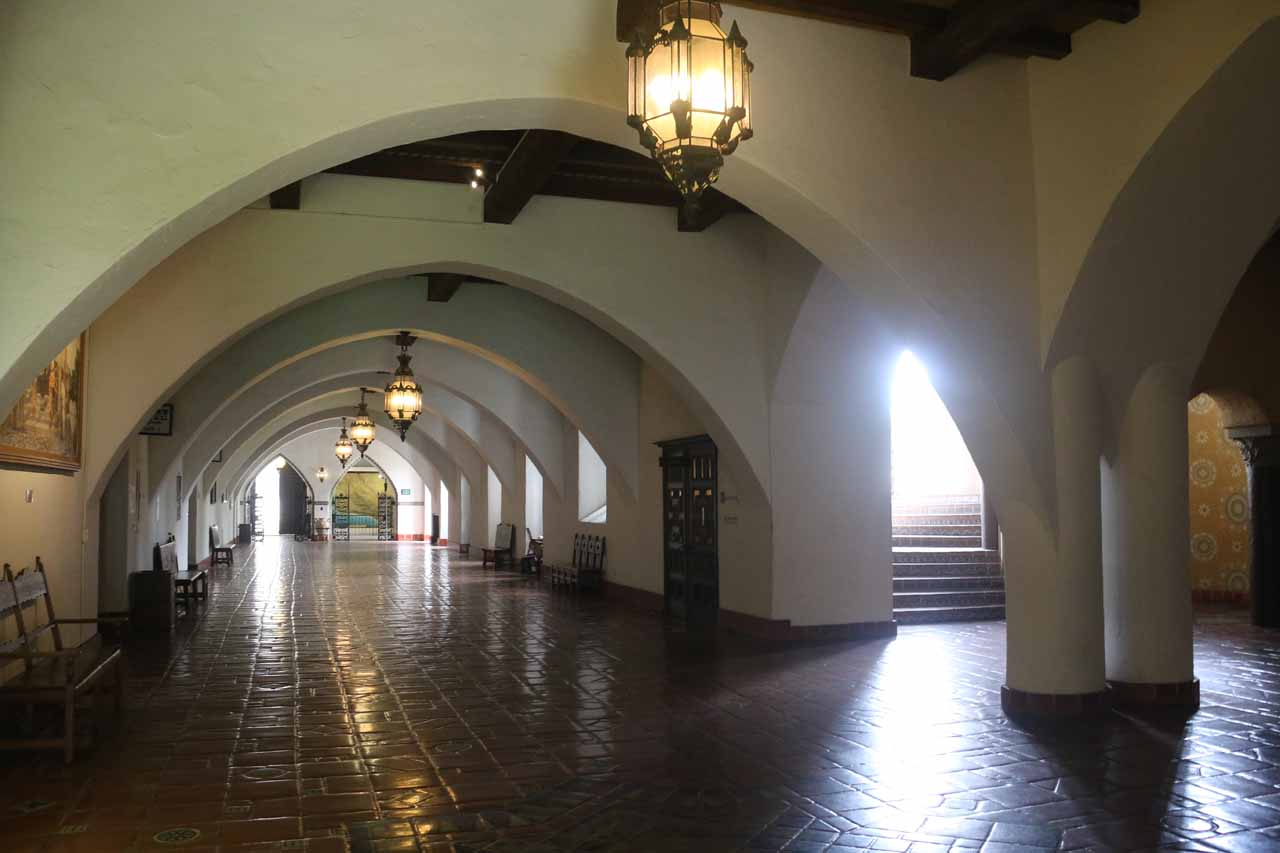 Walking the halls of the Old Courthouse