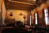 Santa_Barbara_17_120_04012017 - This was the first time that we entered one of the courtrooms, and this one was quite beautiful and reminiscent of our time in Spain a couple of years ago