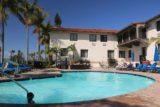 Santa_Barbara_17_171_04022017 - Tahia playing in the swimming pool at the Hyatt Centric Santa Barbara