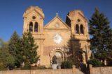 Santa_Fe_010_04142017 - Frontal look at the Cathedral Basilica of St Francis of Assisi