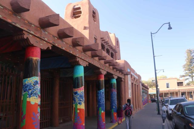 Santa_Fe_021_04142017 - The city of Santa Fe had a surprisingly diverse art scene, which was reflected in the architecture as well as in the galleries of Canyon Road