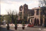 Santa_Fe_041_04142017 - Looking towards the Gaudi-like exterior of the Santa Fe Museum of Art