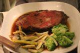 Santa_Fe_102_04142017 - Julie's Prime Steak main dish at La Plazuela