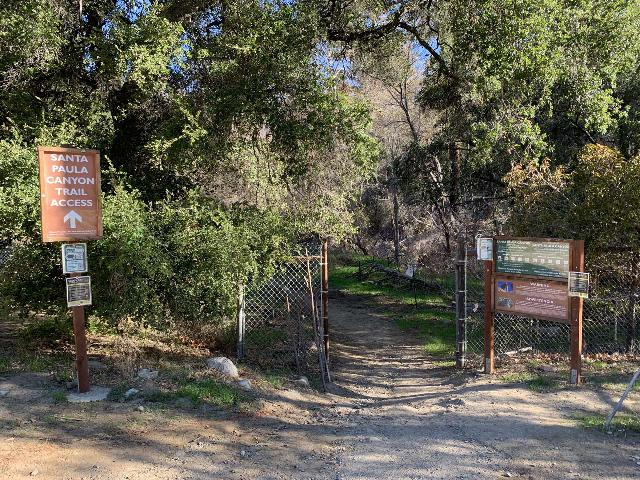 Santa_Paula_Canyon_001_iPhone_02052021 - The Santa Paula Canyon Trailhead