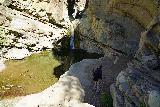 Santa_Paula_Canyon_135_03052021 - Dad making it to the main Santa Paula Canyon Falls