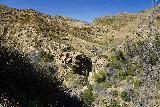 Santa_Paula_Canyon_332_03052021 - Another contextual look of the Santa Paula Canyon Falls from the Big Cone Camp the Hwy 150 towards the Thomas Aquinas College and the Santa Paula Canyon Trailhead
