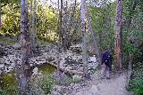 Santa_Paula_Canyon_391_03052021 - Dad approaching the second crossing of Santa Paula Creek as we were finally near the end