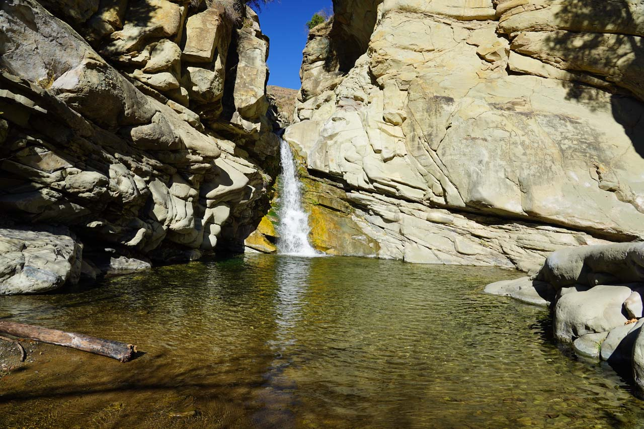 Santa Paula Canyon Falls