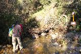Santa_Ynez_Falls_057_01192019 - Negotiating yet another creek crossing en route to Santa Ynez Falls as the trail pretty much started to coincide with the stream itself