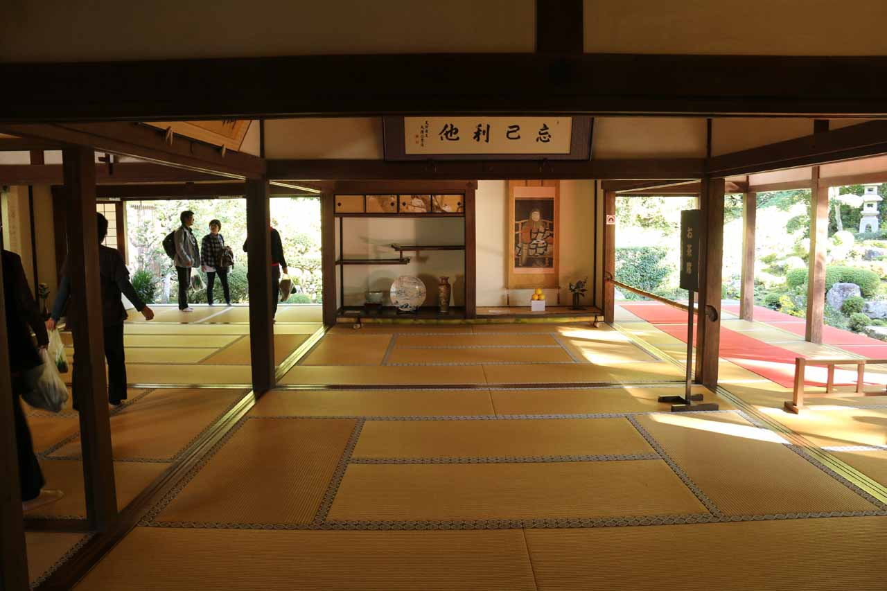 The relaxing and beautiful Sanzen-in Temple was the main attraction of Ohara, and it was the primary benefit for us to use the Otonashi Falls as our waterfalling excuse to come here