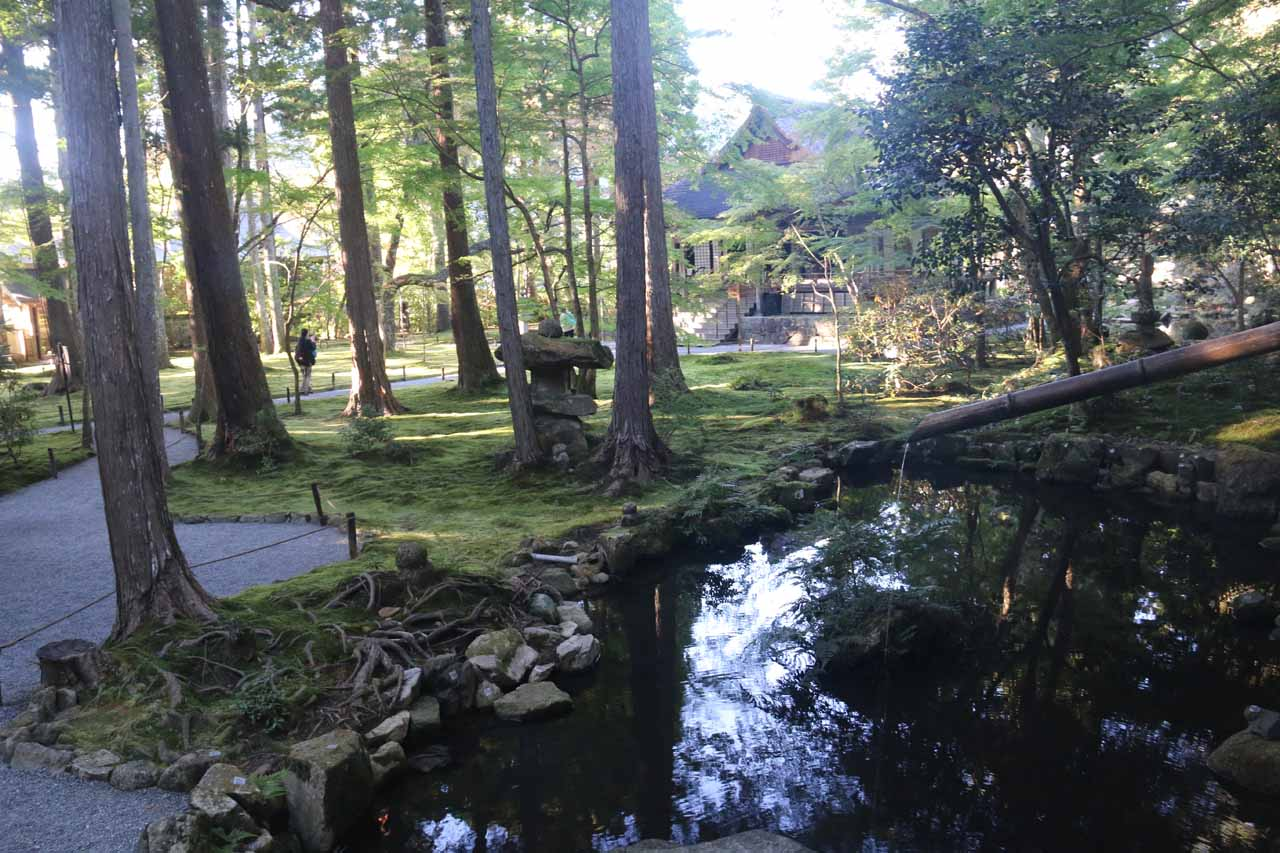 Our visit began with a self-guided tour through the serene Sanzen-in Temple complex before they would deny any further admissions at around 4pm