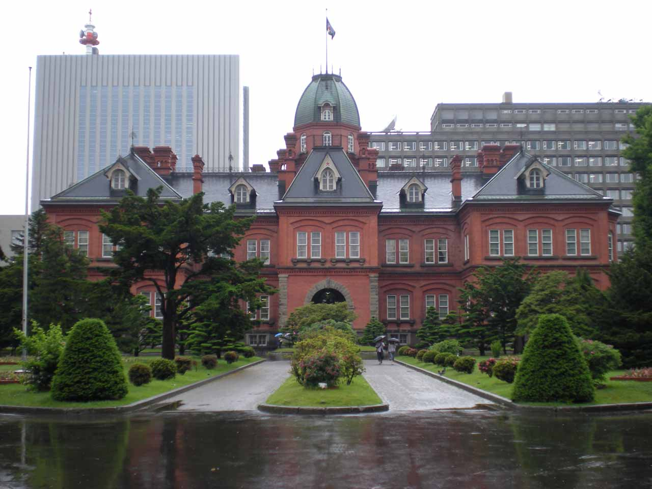 Some former governmental building in Sapporo