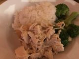 Sauce_Ashland_008_iPhone_08192017 - The clean chicken and broccoli dish served up at Sauce in Ashland, Oregon