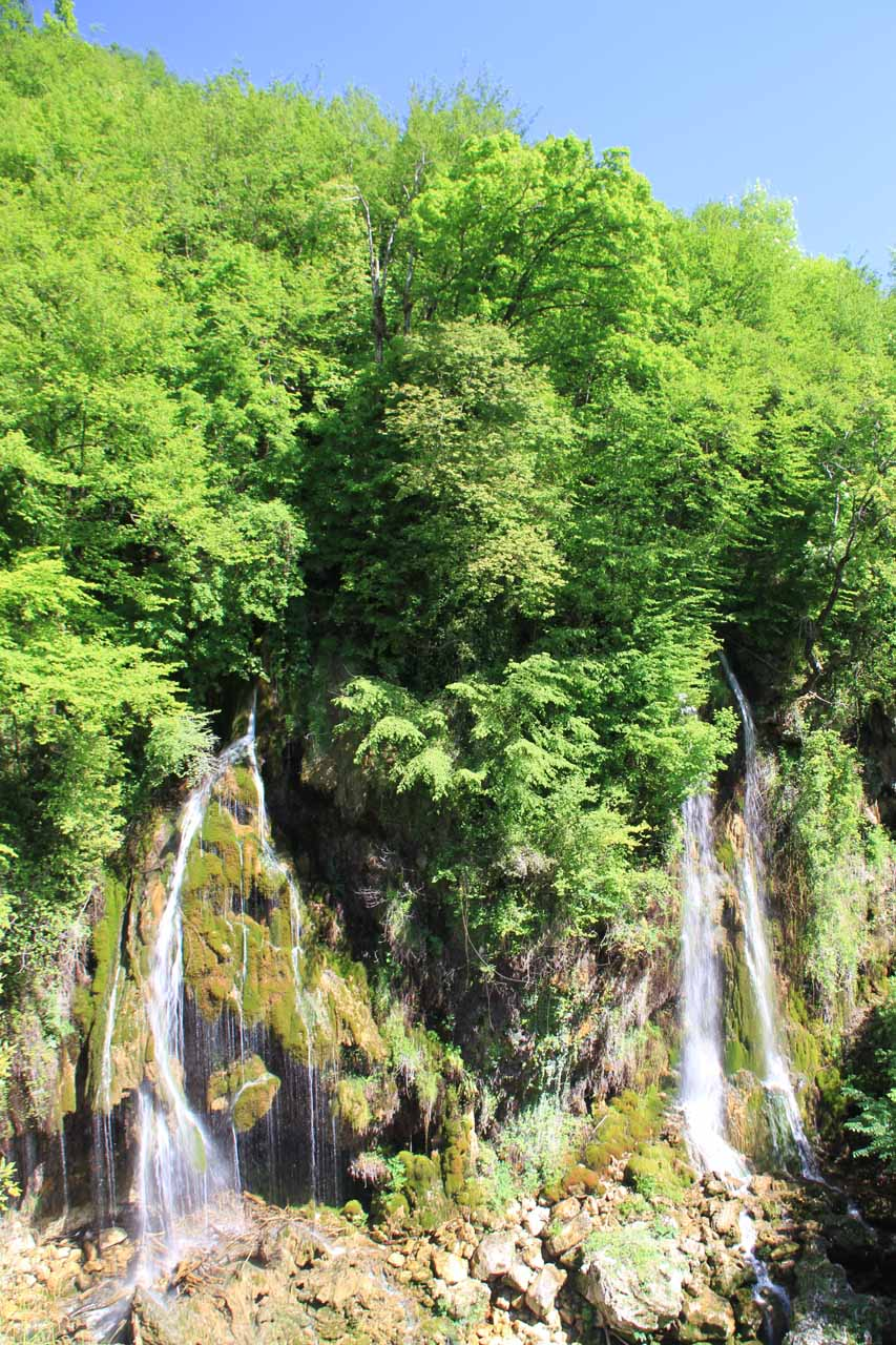 Another look at the other waterfalls not on the Loup Stream