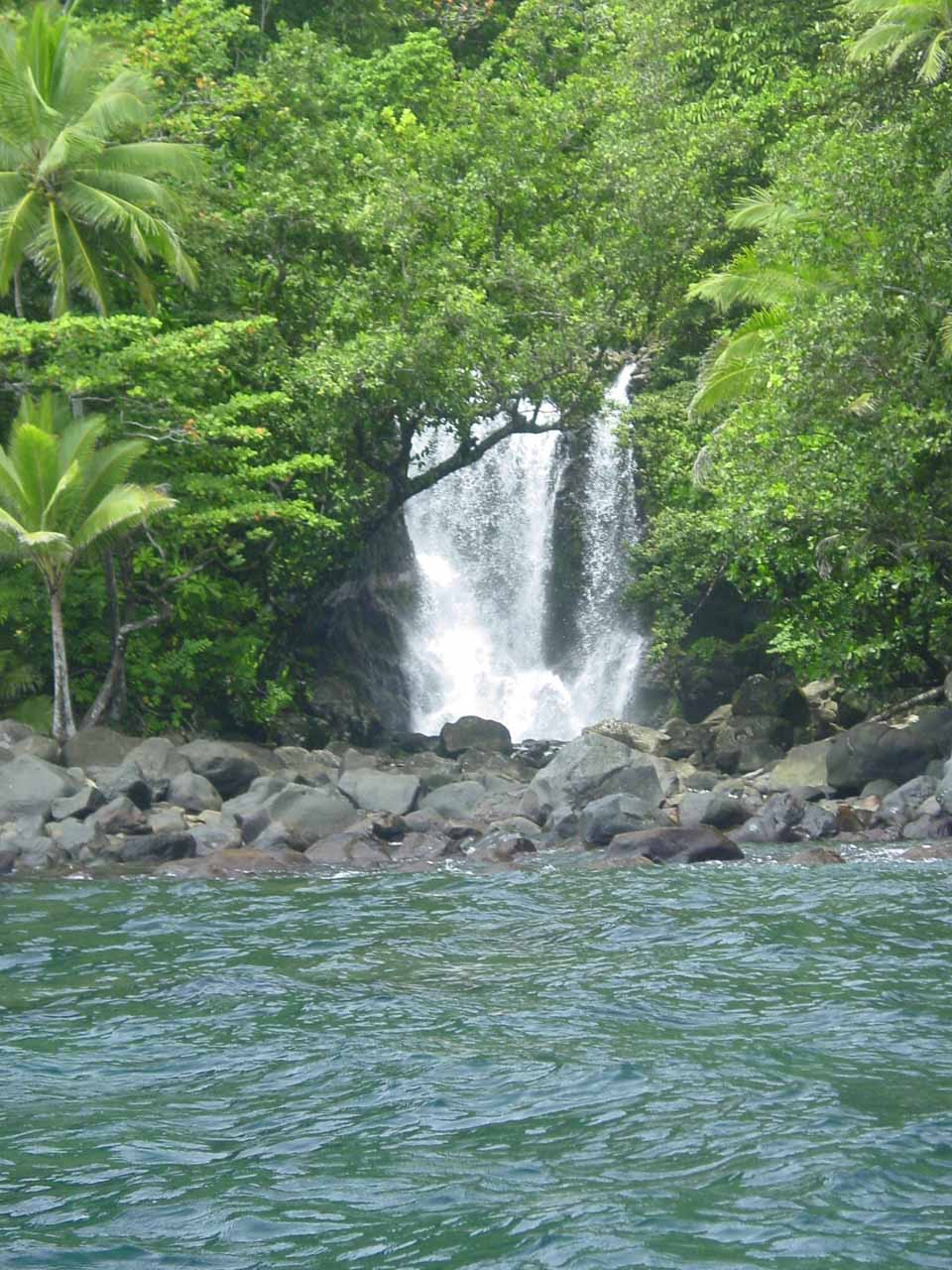 Another one of many waterfalls on the Eastern Taveuni Coast