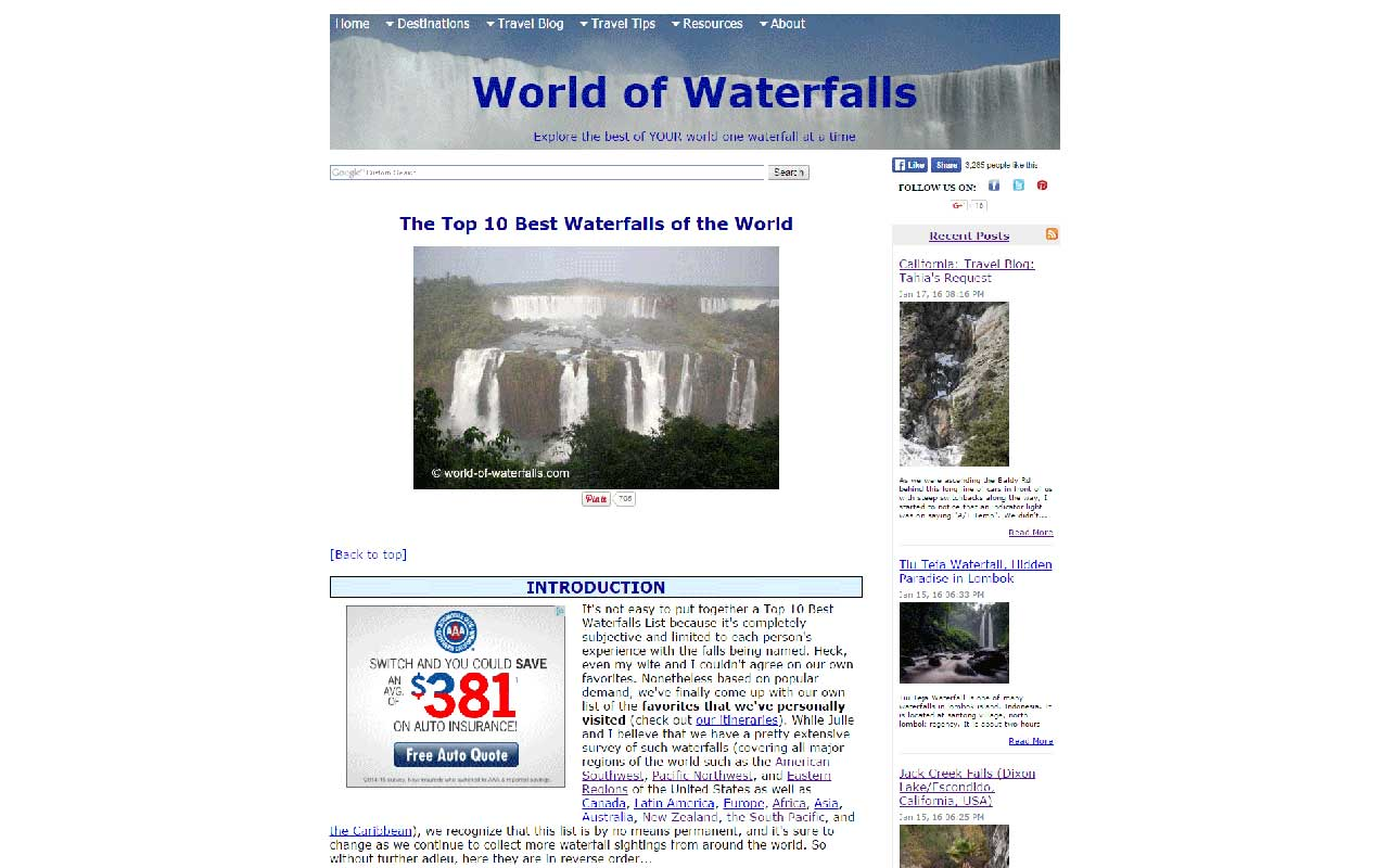 To give you an idea of how one of our Top 10 posts looked like in SBI before the migration, click on the picture. This was an example of just one page out of about 2000 that I had to migrate