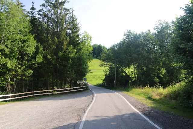 Scheidegger_Waterfalls_001_06232018 - Looking back at the narrow road leading to the car park for the Scheidegger Waterfall