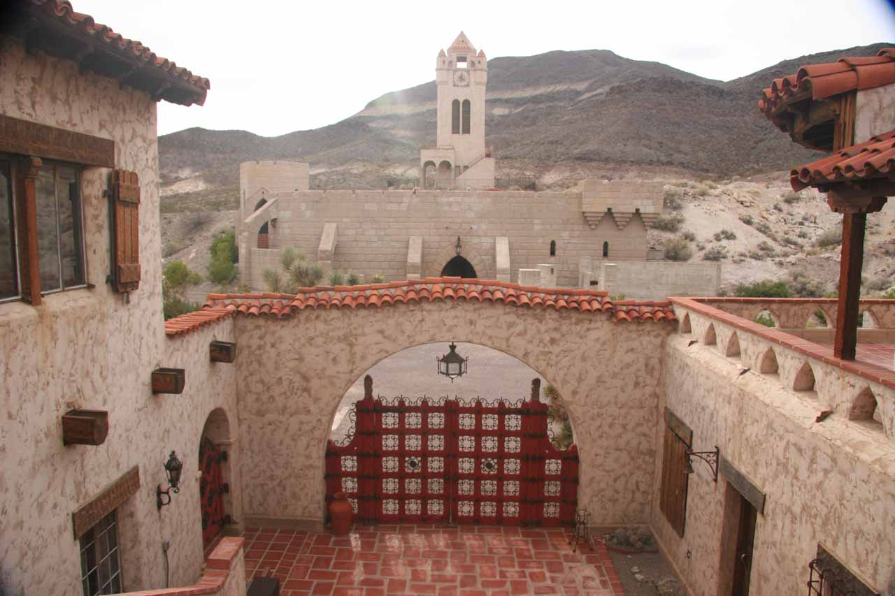 Inside Scotty's Castle