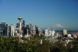 Seattle_059_06202021 - Another look at the Seattle Skyline with Mt Rainier from Kerry Park
