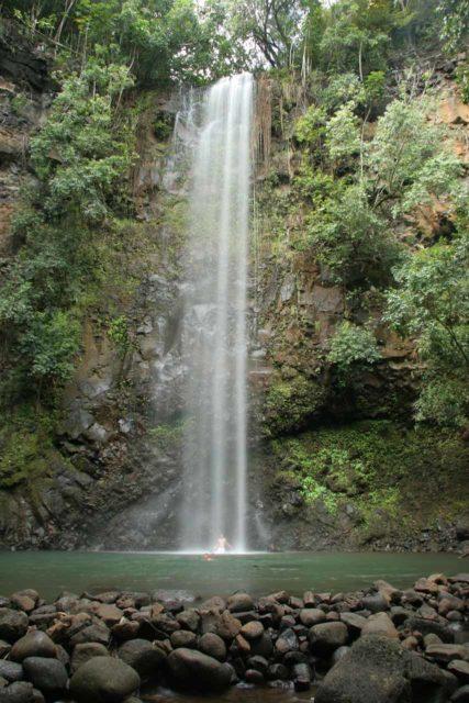 Secret_Falls_022_12232006 - Secret Falls or Uluwehi Falls