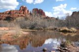 Sedona_142_03142009 - Cathedral Rock reflected in Oak Creek