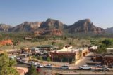 Sedona_17_008_04132017 - Looking more towards the roundabout that was causing the traffic jam in Sedona