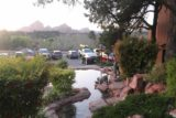 Sedona_17_069_04132017 - Looking over some fountain towards the car park where we parked our car for The Hudson