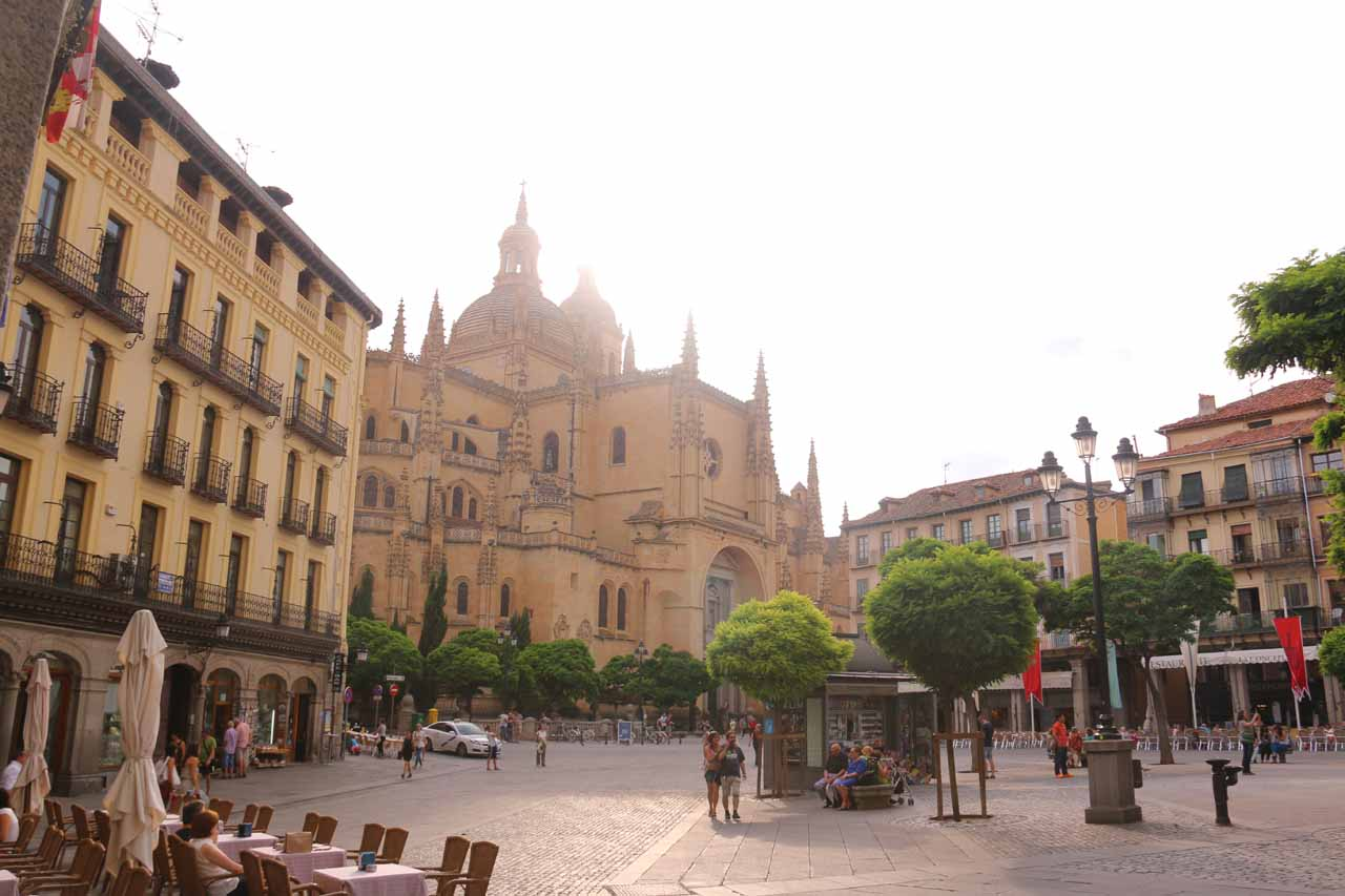 The Plaza Mayor de Segovia