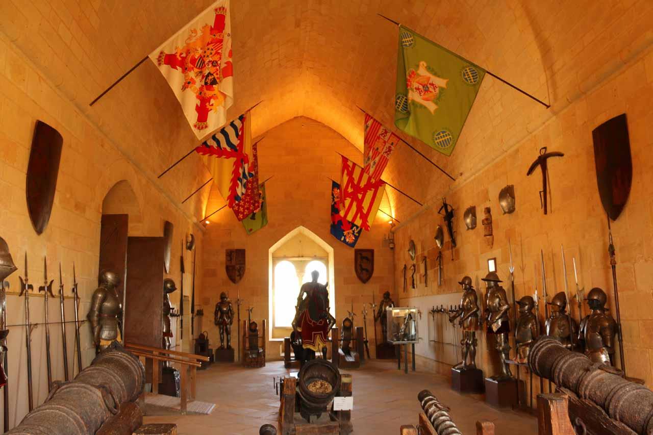 The armory of the Alcazar de Segovia