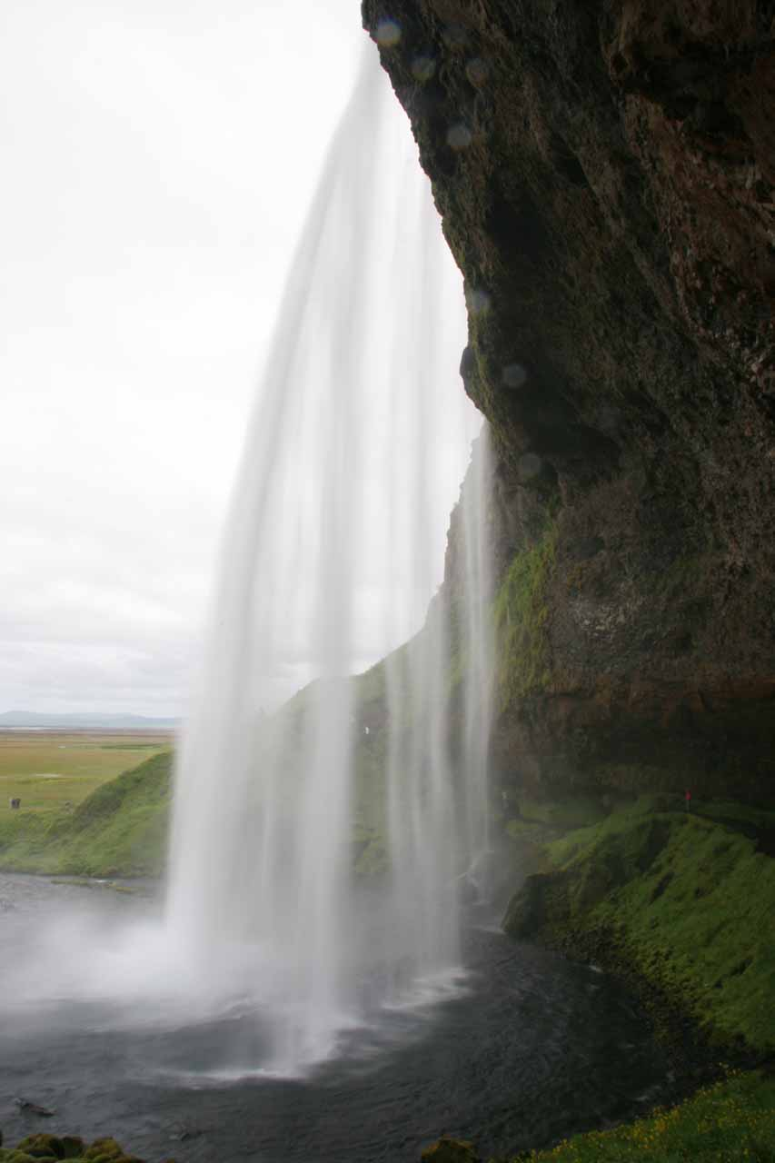 Another backside view of Seljalandsfoss