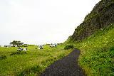 Seljalandsfoss_and-Gljufrabui_091_08072021 - Looking ahead at a campsite as I made my way towards Gljufrabui
