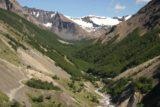 Sendero_Torres_del_Paine_037_12252007 - The Rio Ascensio and the undulating trail hugging the ravine