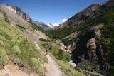 Sendero_Torres_del_Paine_045_12252007 - Getting close to Alb. El Chileno