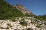 Sendero_Torres_del_Paine_094_12252007 - The start of the boulder scrambling section