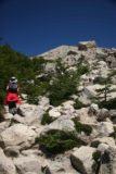 Sendero_Torres_del_Paine_096_12252007 - The boulder scramble before us