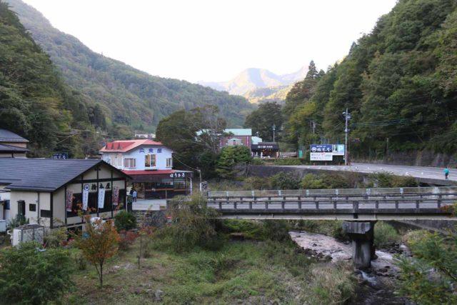 Senga_Falls_005_10172016 - Looking upstream from one of the many bridges spanning the Arakawa River in the vicinity of the Shosenkyo Gorge and the Sengataki Waterfall