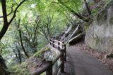 Senga_Falls_067_10172016 - Context of the pleasant walkway hugging the walls of the Shosenkyo Gorge