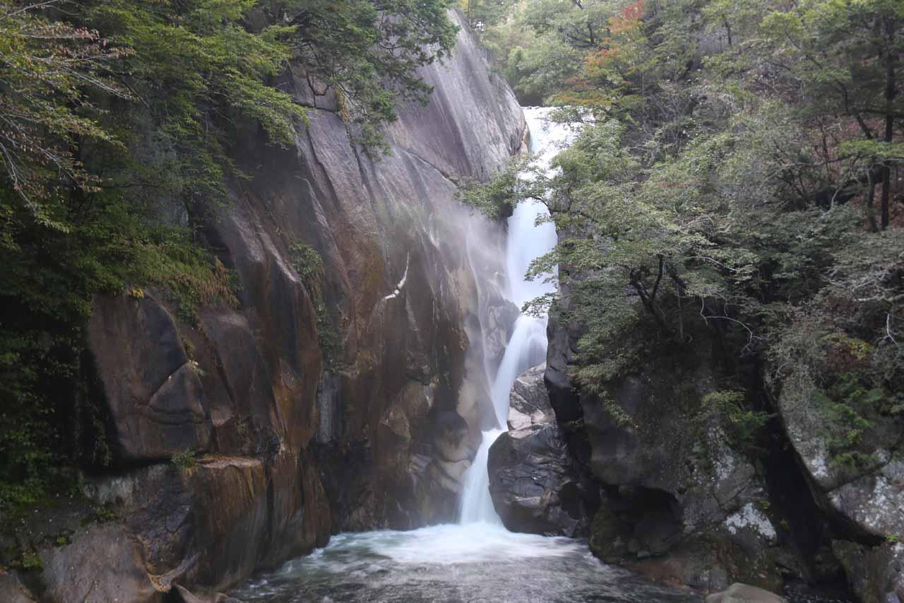 Back at the Senga Falls again